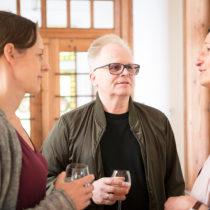 Herbert Grönemeyer begleitete als Freund Roger Willemsens die Veranstaltung