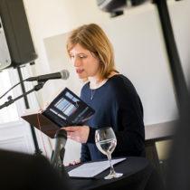 Dr. Insa Wilke, Rechtsnachfolgerin Roger Willemsens, sprach die Begrüßung