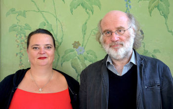 Die Autoren Claudia Rusch und Frank Schulz